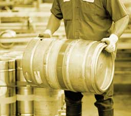 Half barrel keg - more than home brewers use