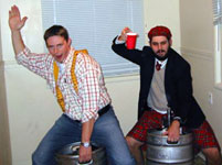 Keg Raiders Scott and Andy