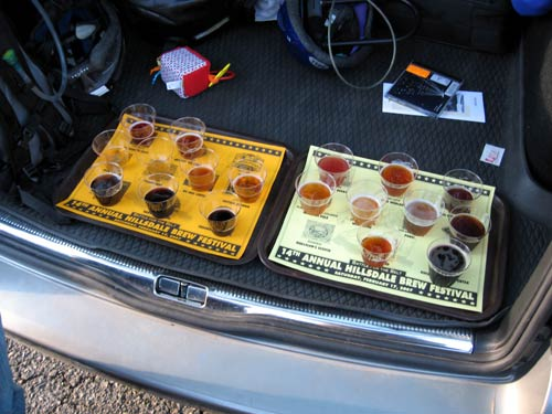 Beer in the trunk