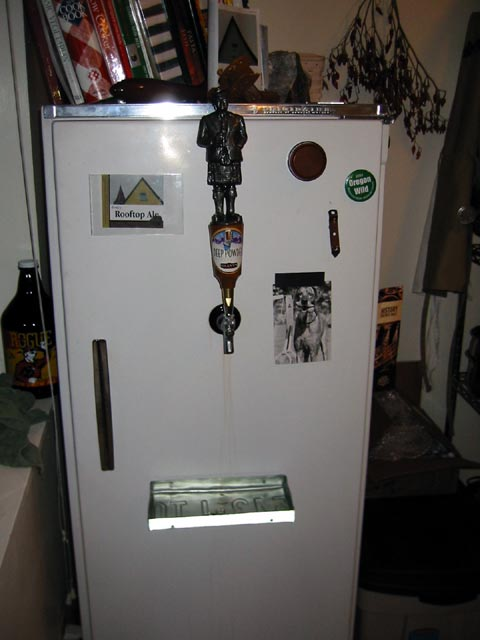 Commercial Refrigerator In Kitchen