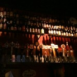 Wall o' taps at the Map Room