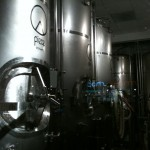 Fermenting tanks at Piece